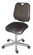 Office chair XXL, Castors, 425 ­ 555 mm