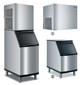 Flake ice maker with separate store <br/>RFP-series Manitowoc Ice RFP 0620 A, 95 kg, RFP 0620 A<br/>with store<br/>D 320