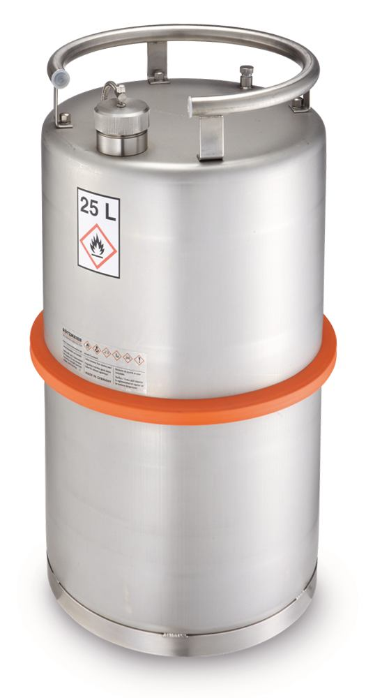 Safety barrel Transport containers with UN-X approval, 10 l