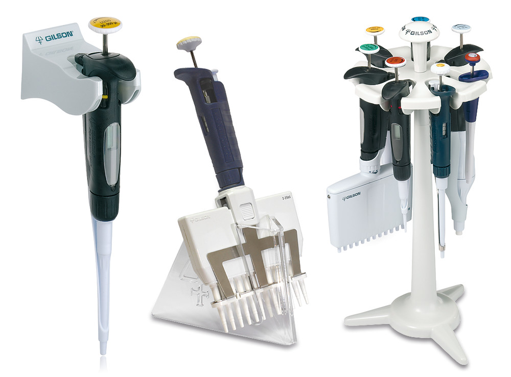 Accessories for Pipetman<sup>&reg;</sup> Neo microlitre pipettes, Coloris&trade; clips (five assorted colours)