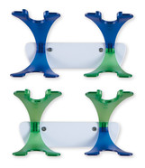 Wall holders for microlitre pipettes