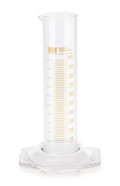 Measuring cylinders Class B Brown graduations, 1000 ml