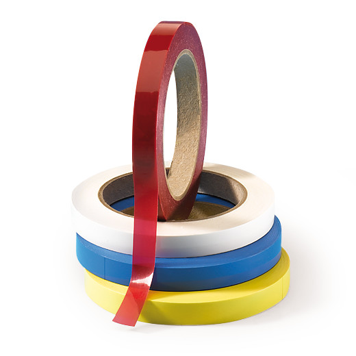 Adhesive tape for closing petri dishes, colourless