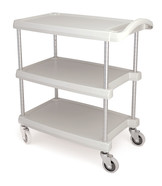 Shelf trolley plastic, Number of bases: 2