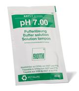 pH buffer solution ROTILABO<sup>&reg;</sup> pH 7,00 In sachets