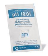 pH buffer solution ROTILABO<sup>&reg;</sup> pH 10,01 In sachets