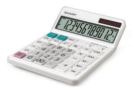 Solar-powered pocket calculator Sharp EL-340W