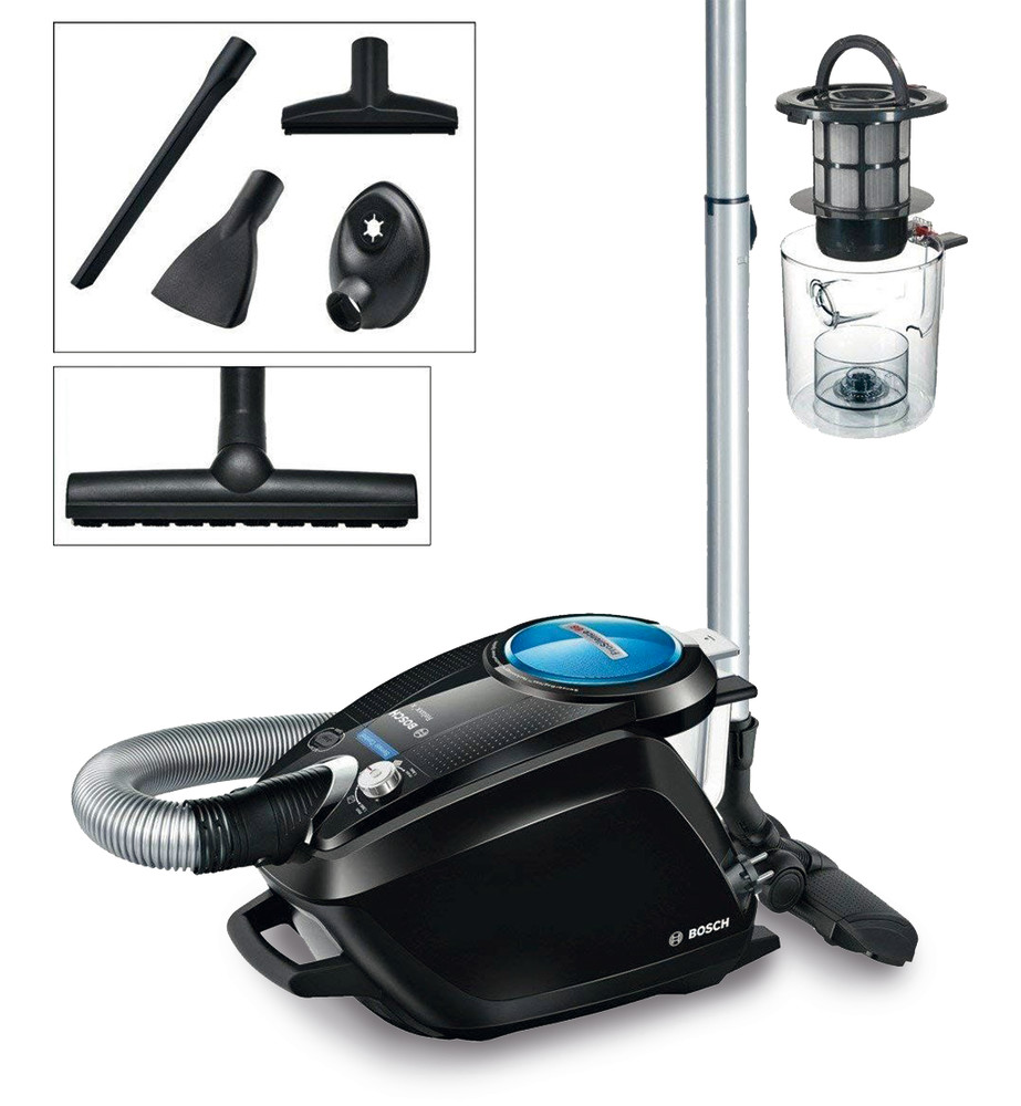 Floor vacuum cleaner bagless
