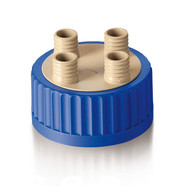 Multiple distributor for bottles GLS 80 Insert and screw cap made of PP