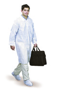 Disposable gowns Made of PP without pockets, Size: XL