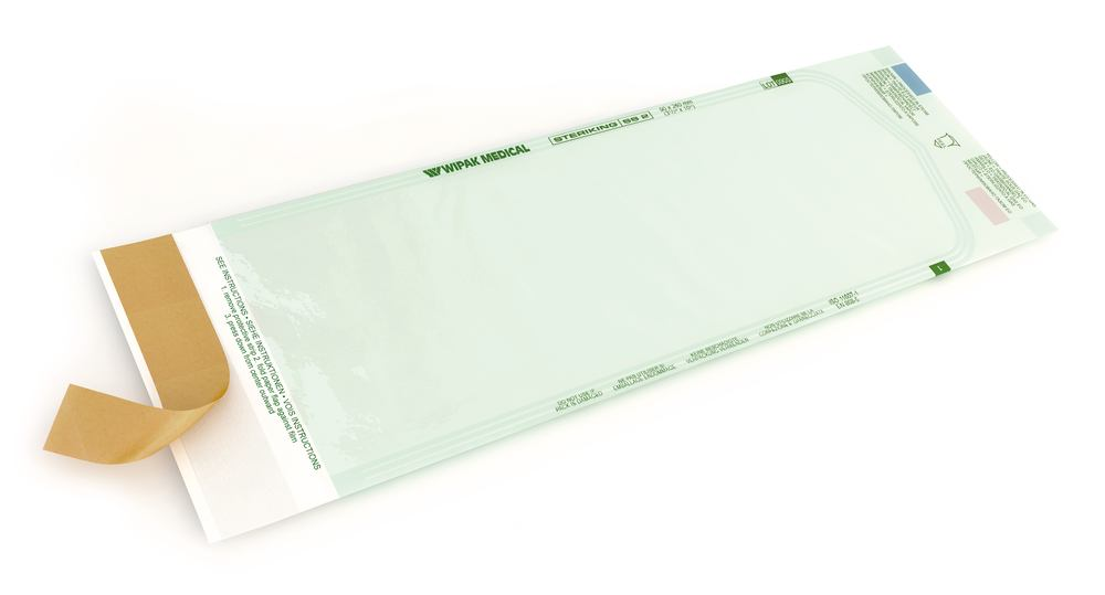 Sterilisation pouch Steriking<sup>&reg;</sup> Self-adhesive, 250 x 60 mm