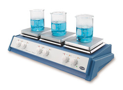 Multi-position magnetic stirrer with heater SB 162-3