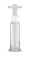Gas wash bottle, Without filter plate, 250 ml