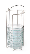 Petri dish stands ROTILABO<sup>&reg;</sup> plastic-coated