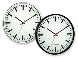 Radio-controlled wall clock, Chrome