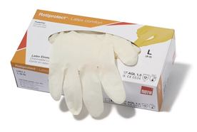 Gants à usage unique ROTIPROTECT<sup>&reg;</sup> Latex type 2, Taille: L (8–9)