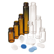 Sample vials ROTILABO<sup>&reg;</sup> with thread ND24 (EPA), Clear glass, 20 ml