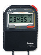 Stopwatch with calibration certificate