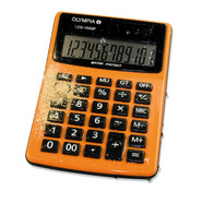 Solar-powered pocket calculator LCD 1000P