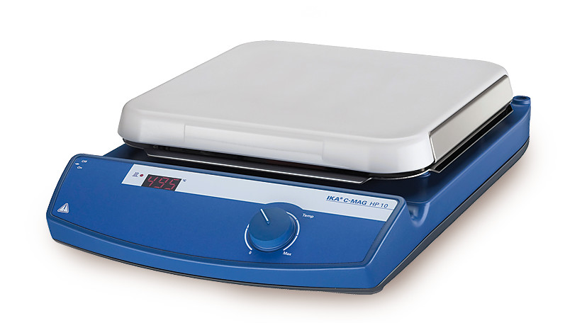 Digital heating plate C-MAG HP series Models with contact thermometer connection, 1500 W, 260 x 260 mm, C-MAG HP 10