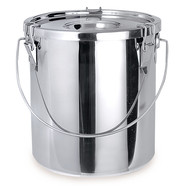 Buckets with lid, 10.5 l