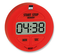 Timers ROTILABO<sup>&reg;</sup> with count-down/count-up , Red