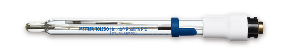 pH single-rod measuring cell InLab<sup>&reg;</sup>  RoutinePro with integrated temperature gauge