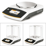 Semi-micro, analytical and precision balances Quintix<sup>&reg;</sup> Series Semi-micro balances, models cannot be calibrated, 0.00001 g, 30 g, 35-1S (W)