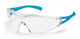 Safety spectacles x-one, Colourless, Azure blue