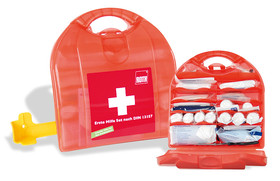 First-aid kit compact