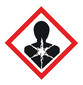 GHS hazardous substances labels to combine Pictogram, Flame