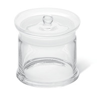 Specimen jars ROTILABO<sup>&reg;</sup> with recessed knob, Height: 100 mm