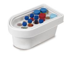 Ice container rack for 15/50 ml centrifuge tubes