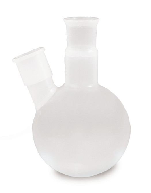 Round bottom flasks Double neck flasks, 100 ml, 14/23