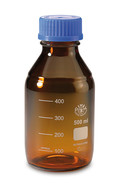 Screw top bottle ROTILABO<sup>&reg;</sup> Brown glass, 1000 ml, GL 45