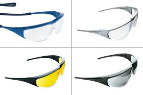Safety spectacles Millennia<sup>&reg;</sup>, Colourless, Blue