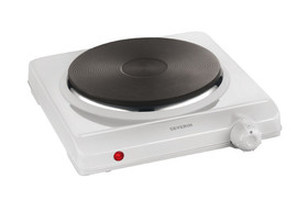 Hot plate, Ø 180 mm, Hot plate, individual, Upper part, enamelled white, 1500 W