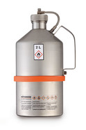 Safety laboratory canister non-polished, with screw cap and UN-X approval, 2 l