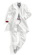 Women's lab coats 4866, Women's size: 38