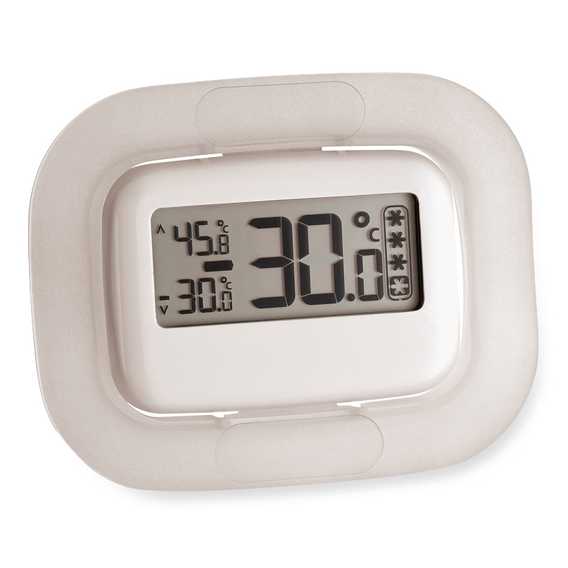 Thermometers for refrigerators and freezers