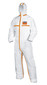 Overall uvex 8959 Type 4B, 5, 6, white/orange, Size: S