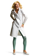 Women's lab coats 1699 Mixed fabric, Women's size: 38