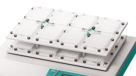Accessories and attachment systems for TiMix 5 microtiter shakers TiMix 5 expansion tray