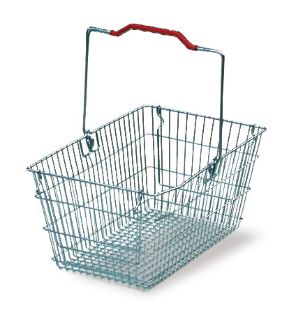 Transport basket Metal, 7 l, Outer length: 365 mm