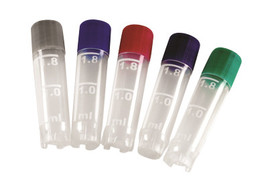 Cryogenic vials True North™ sterile, Assorted colours
