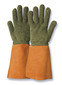 Heat-resistant gloves KarboTECT<sup>&reg;</sup> L954 with leather cuffs, Size: 10