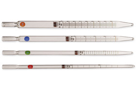 Graduated pipettes for tissue cultures, 10 ml, Graduation: 0,1 ml