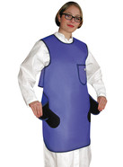 X-ray protective apron, Size: M, 100 cm