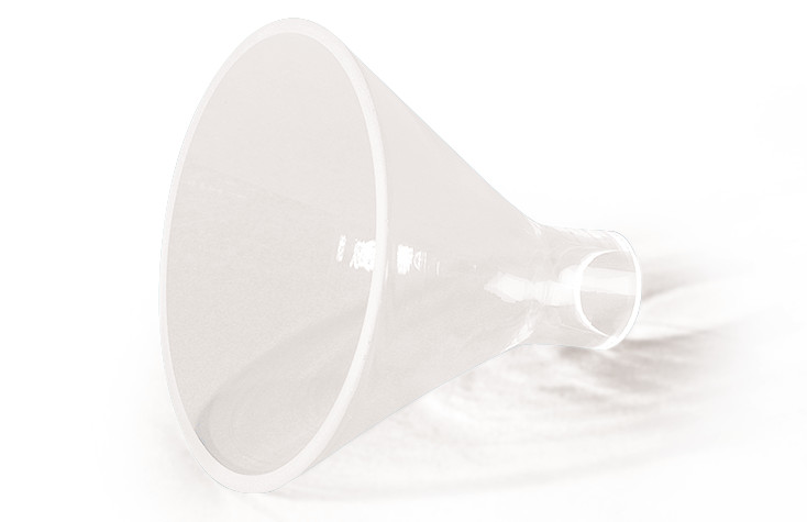 Powder funnel, 50 mm