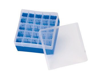 Storage box ROTILABO<sup>&reg;</sup> for 5, 10 and 20 ml headspace bottles